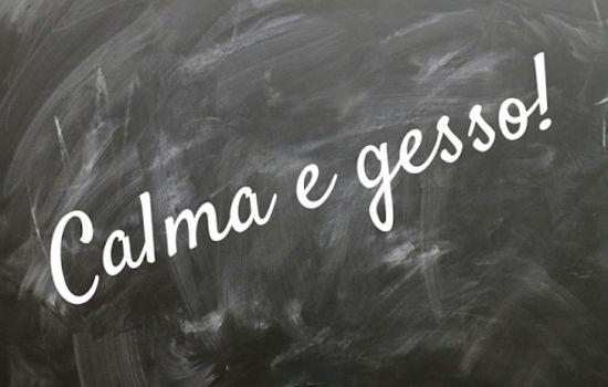 Cosa significa dire calma e gesso